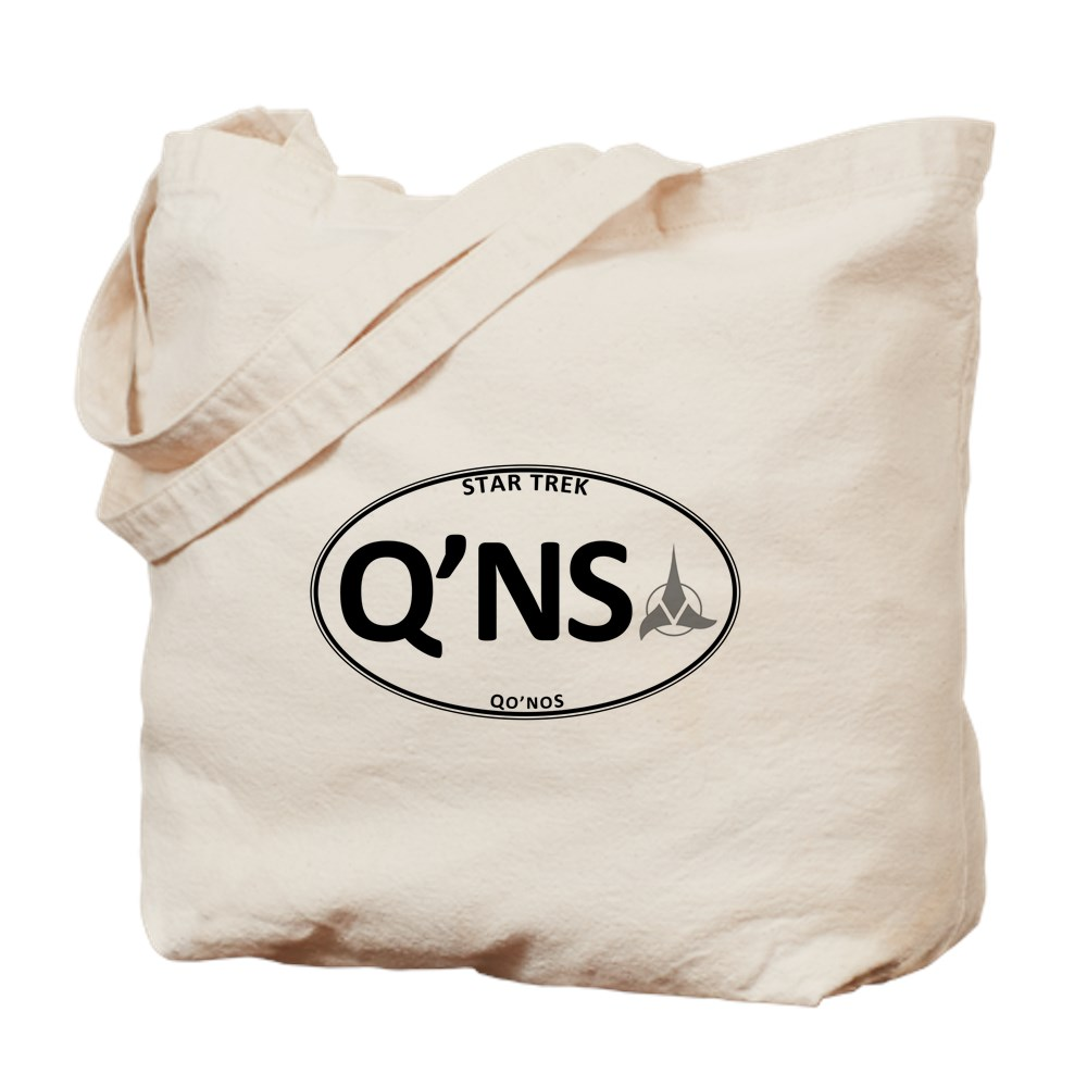 Star Trek: Qo'noS White Oval Tote Bag