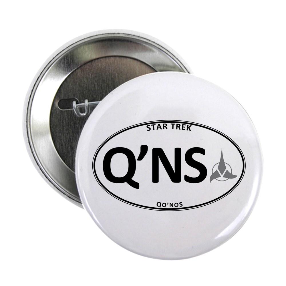 Star Trek: Qo'noS White Oval 2.25