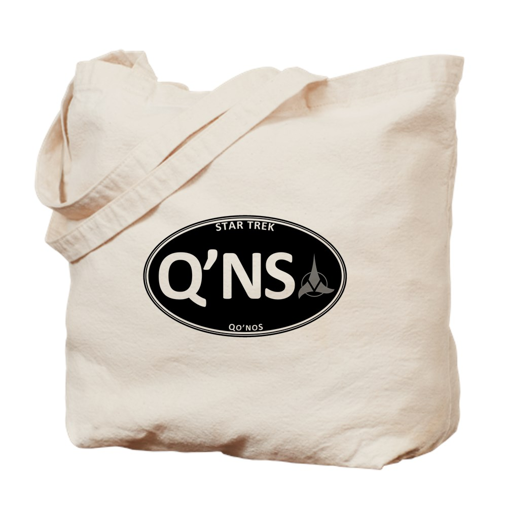 Star Trek: Qo'noS Black Oval Tote Bag