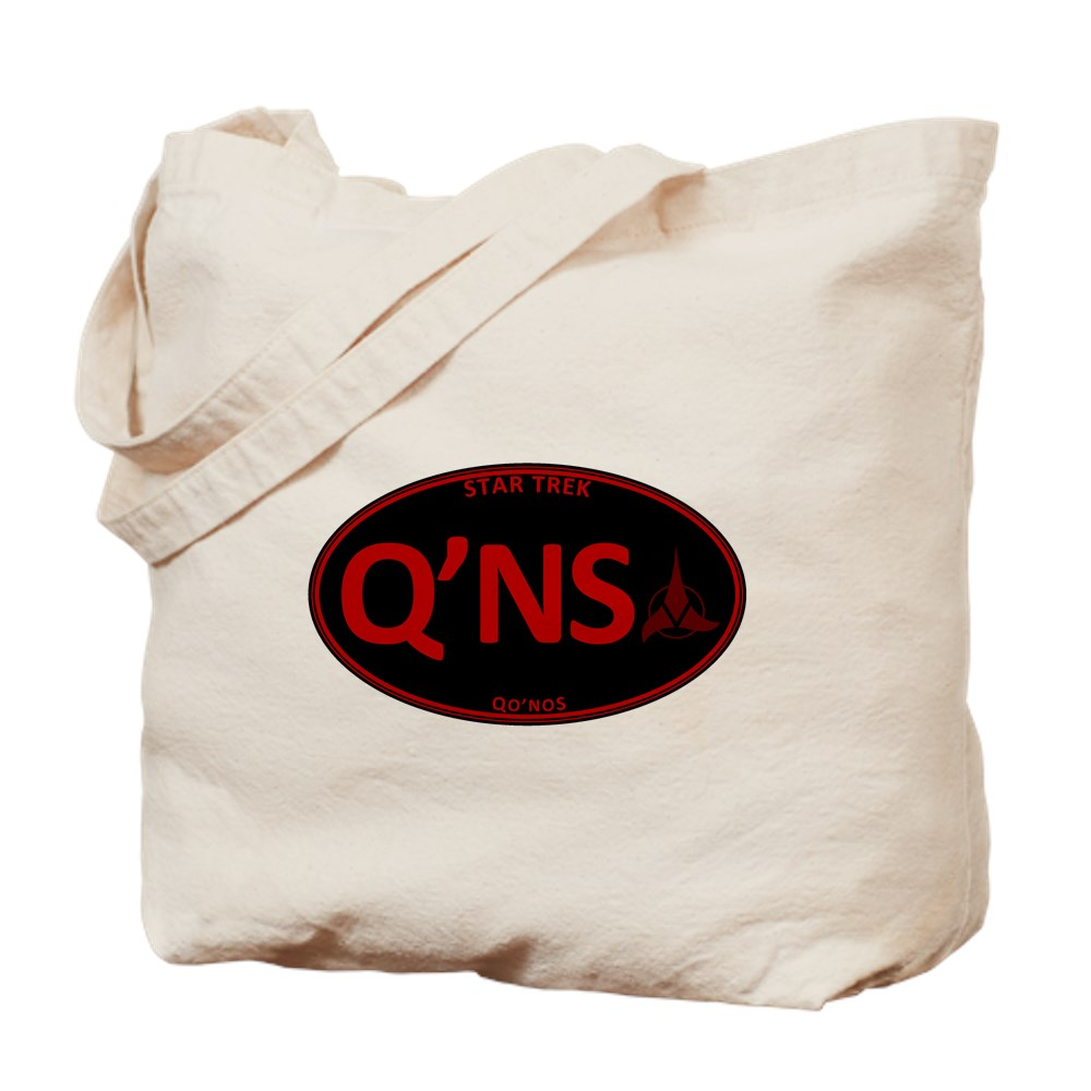 Star Trek: Qo'noS Red Oval Tote Bag