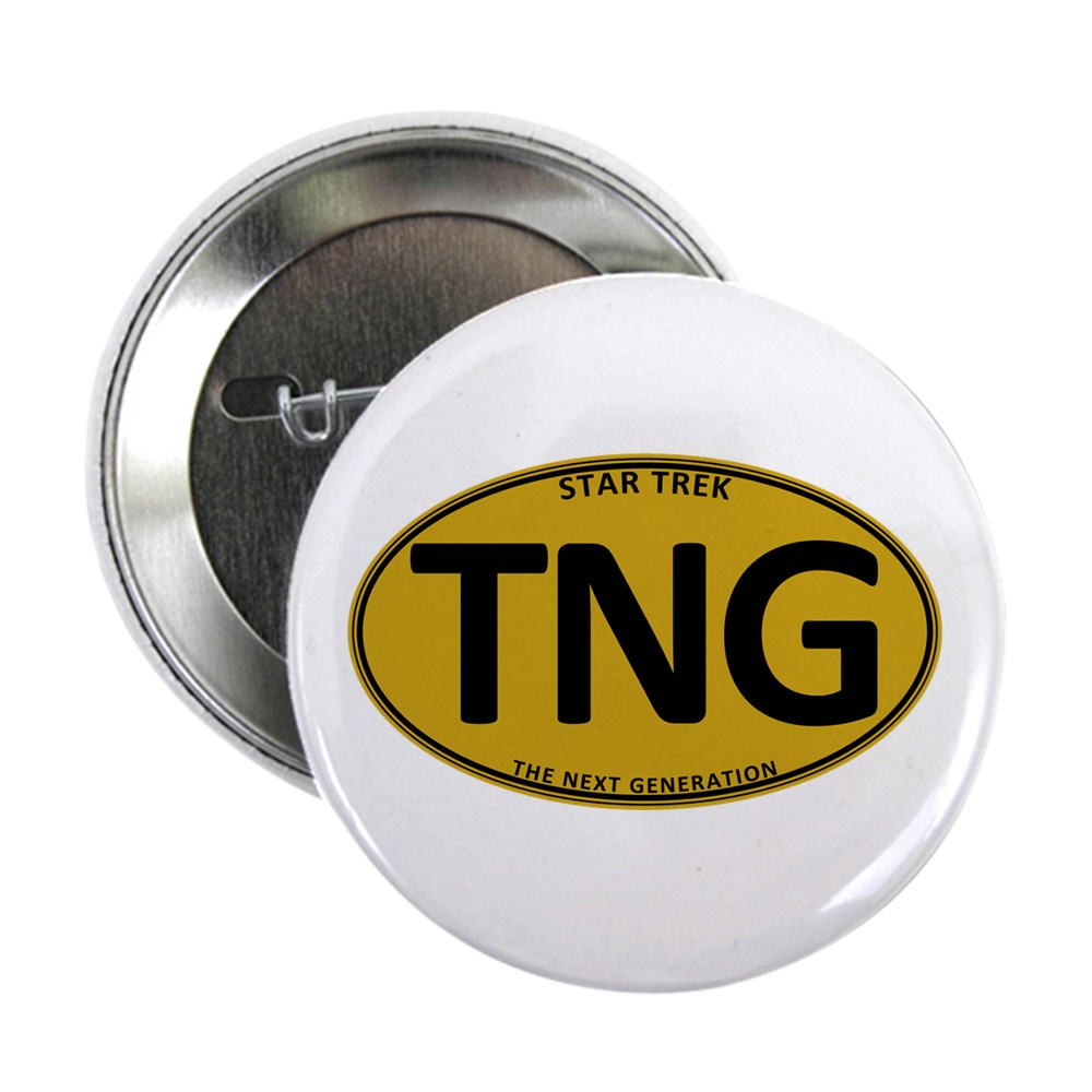 Star Trek: TNG Gold Oval 2.25