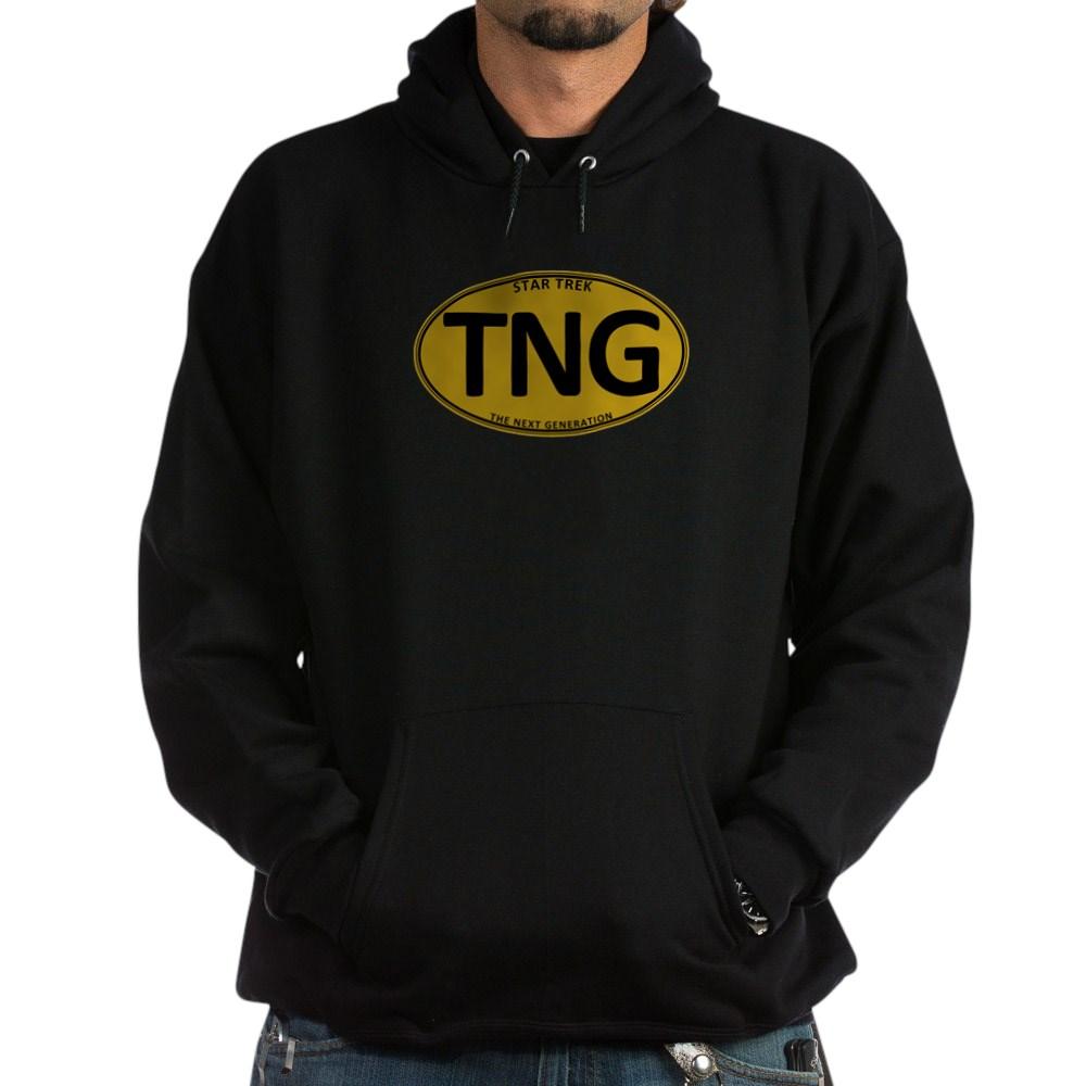 Star Trek: TNG Gold Oval Dark Hoodie