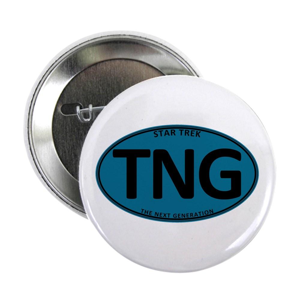 Star Trek: TNG Blue Oval 2.25