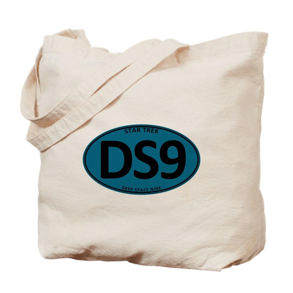 Star Trek: DS9 Blue Oval Tote Bag