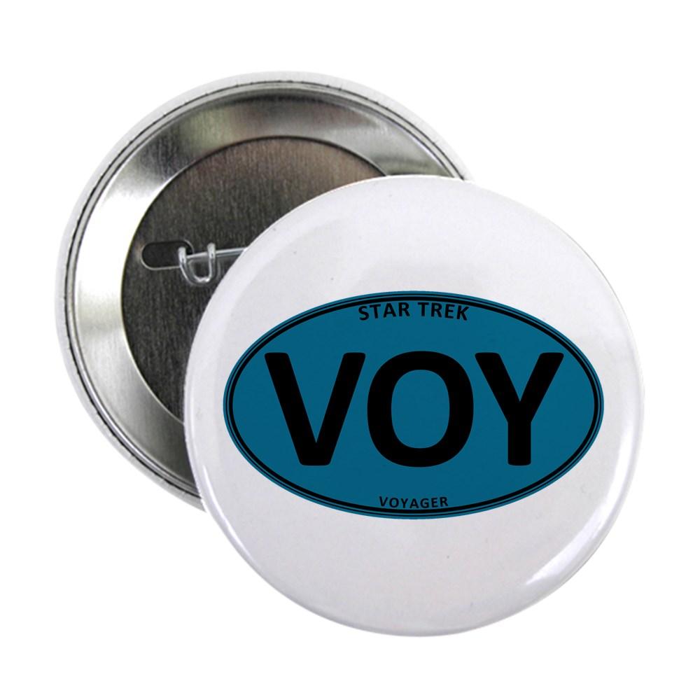 Star Trek: VOY Blue Oval 2.25