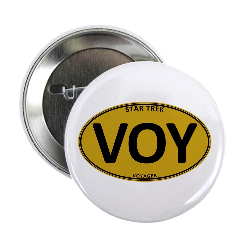 Star Trek: VOY Gold Oval 2.25