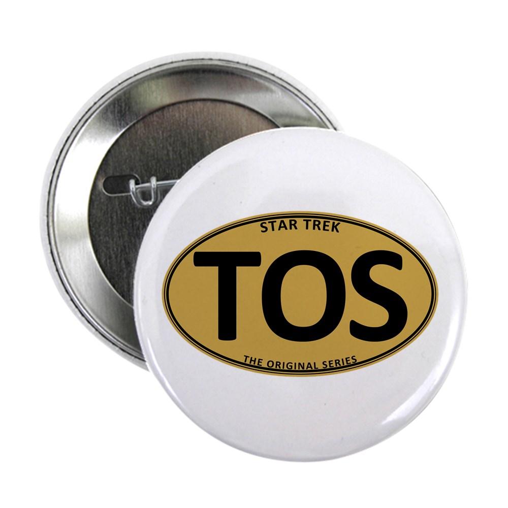 Star Trek: TOS Gold Oval 2.25