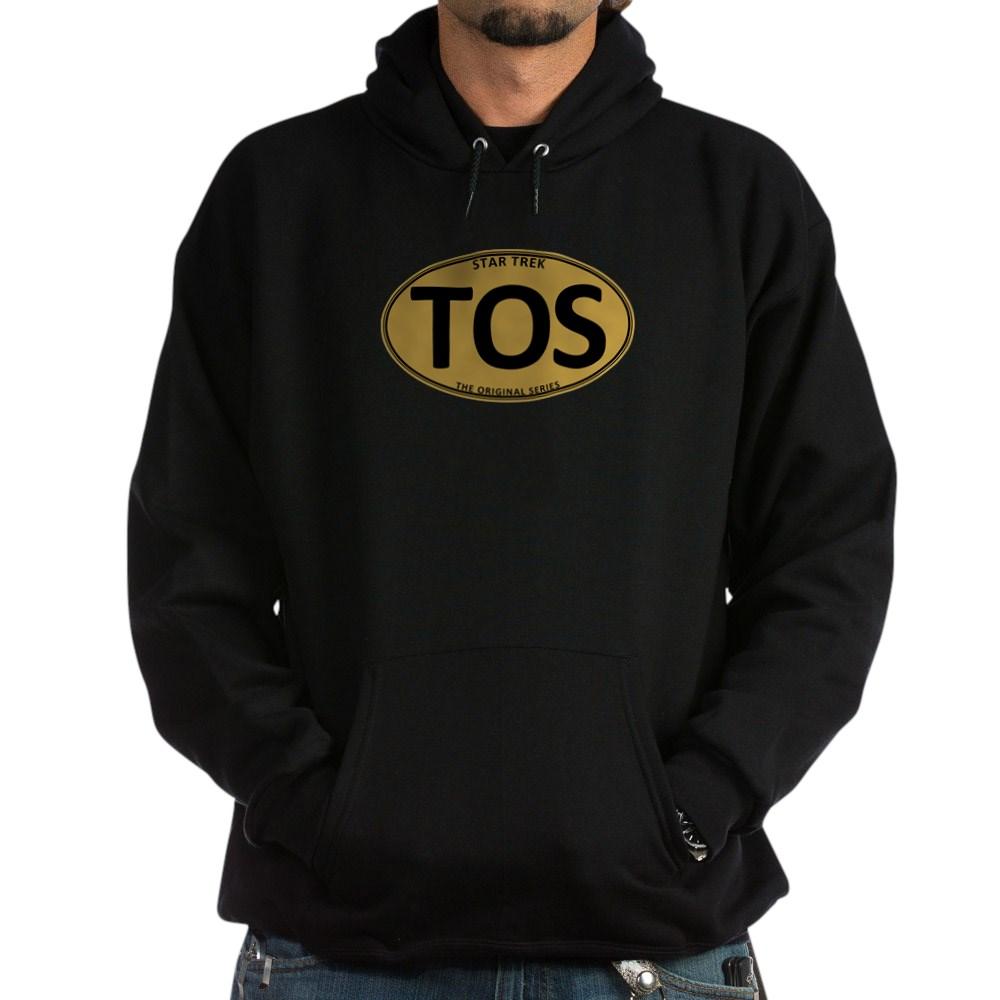 Star Trek: TOS Gold Oval Dark Hoodie