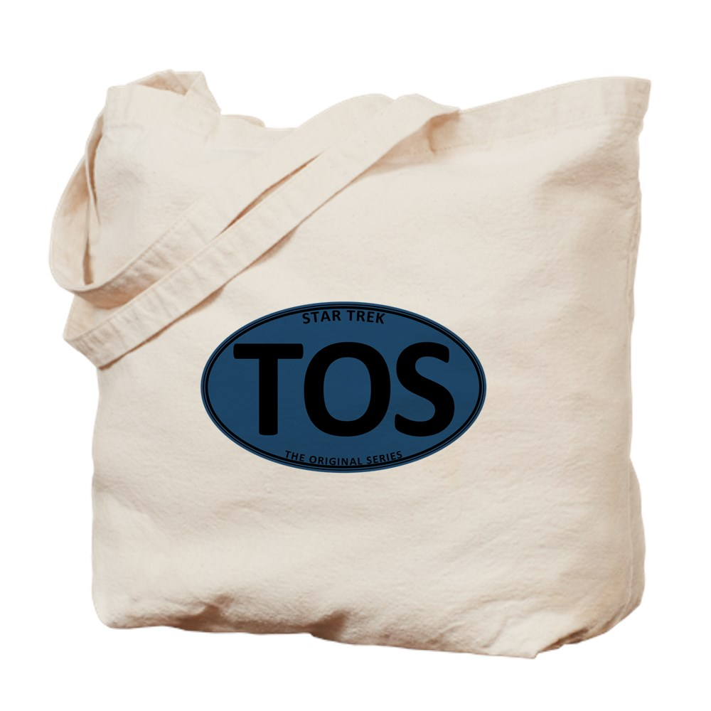 Star Trek: TOS Blue Oval Tote Bag