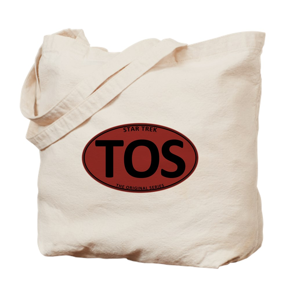 Star Trek: TOS Red Oval Tote Bag