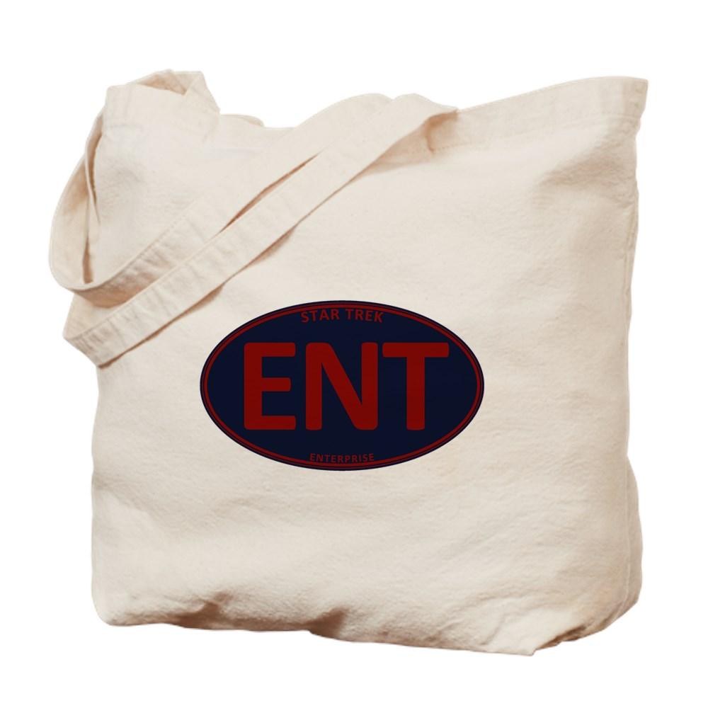Star Trek: ENT Red Oval Tote Bag