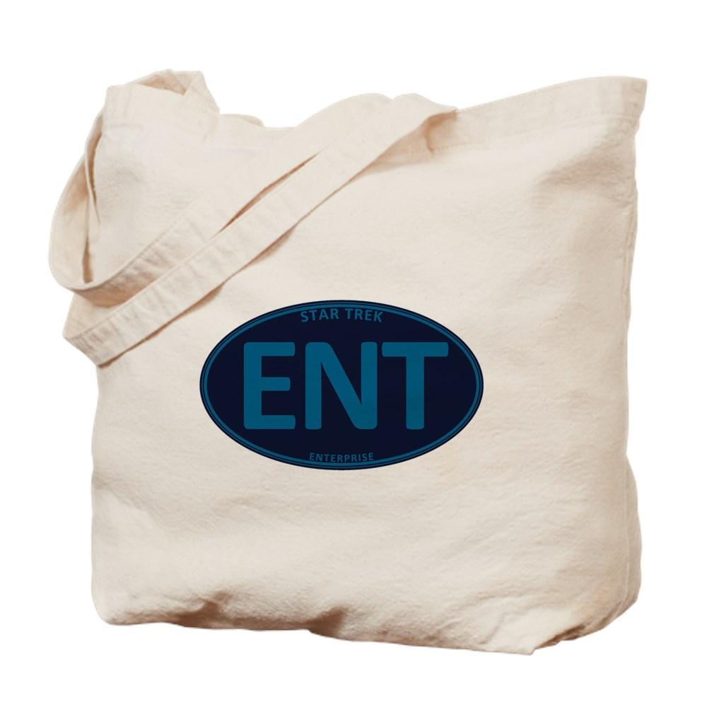 Star Trek: ENT Blue Oval Tote Bag
