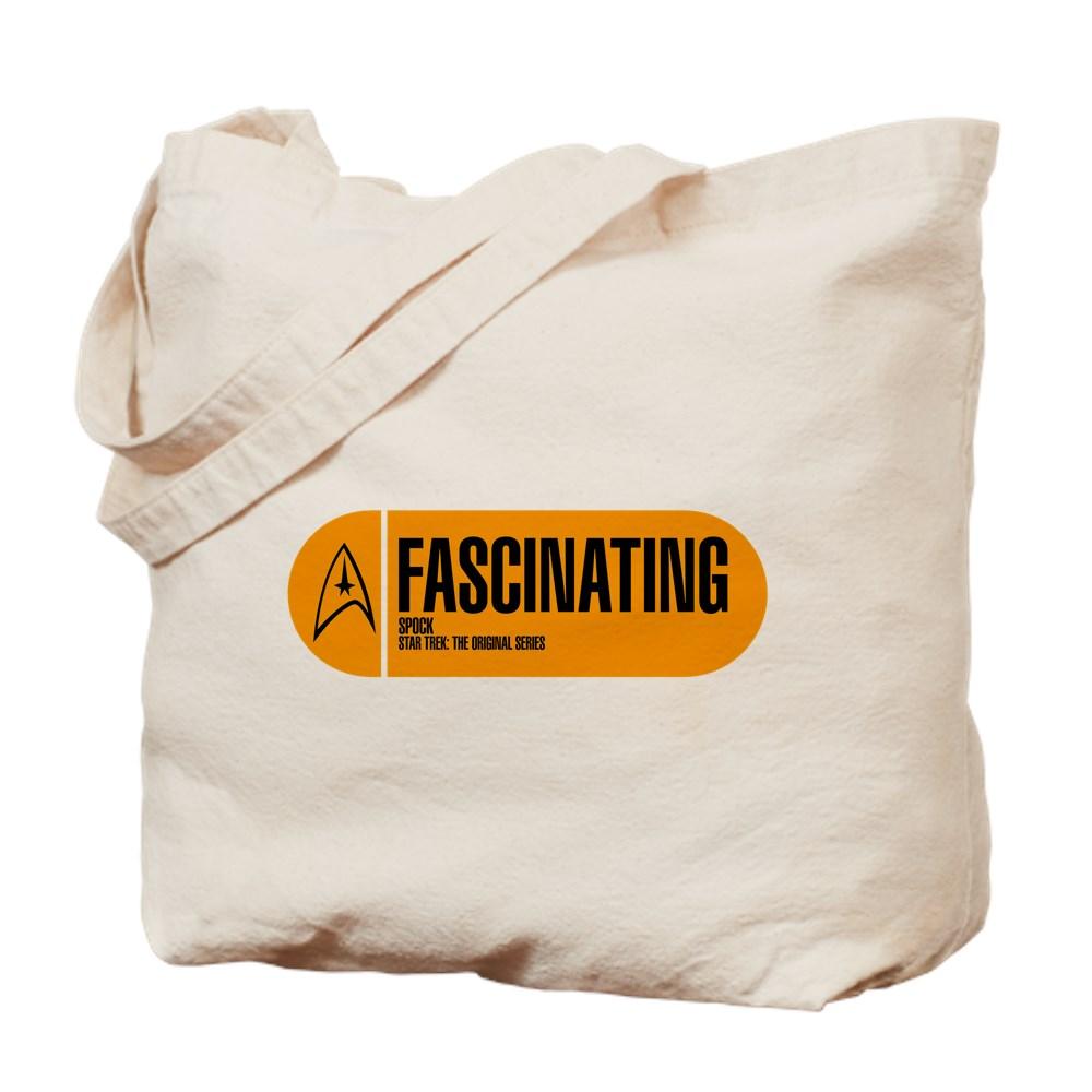 Fascinating - Star Trek Quote Tote Bag