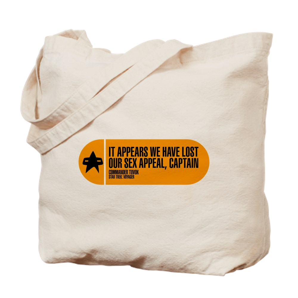 It Appears We Have Lost Our Sex Appeal - Star Trek Tote Bag