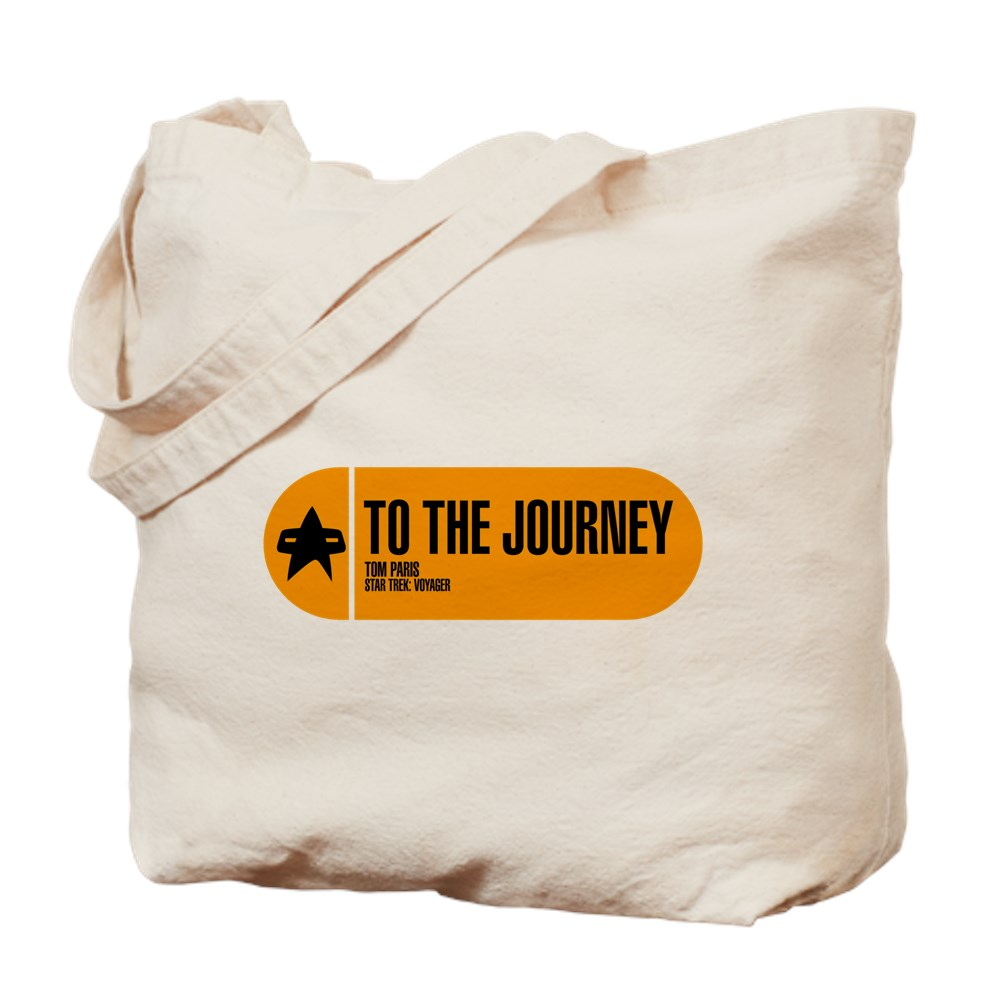 To the Journey - Star Trek Quote Tote Bag