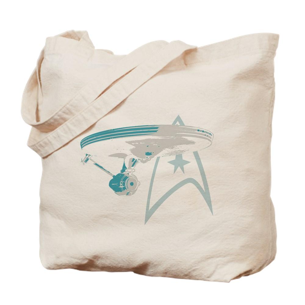 Star Trek Enterprise NCC-1701 Tote Bag