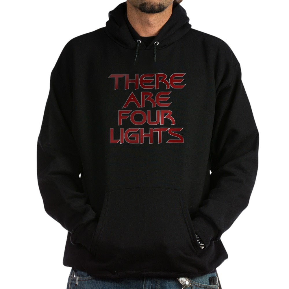 There Are Four Lights Dark Hoodie