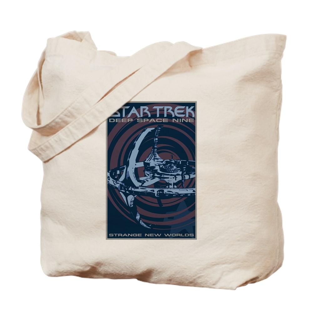 Retro Star Trek: Deep Space Nine Poster Tote Bag
