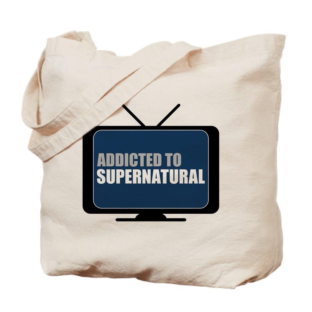 Addicted to Supernatural Tote Bag