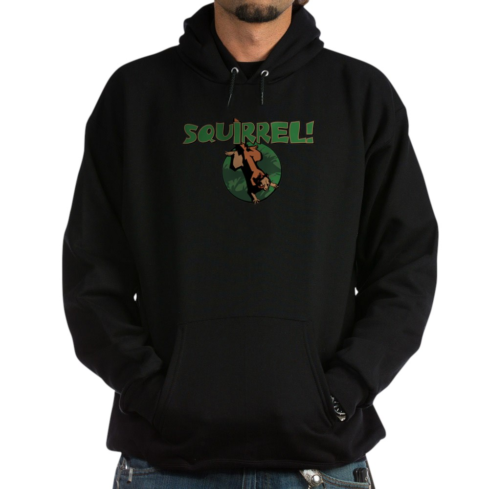 Squirrel! Dark Hoodie