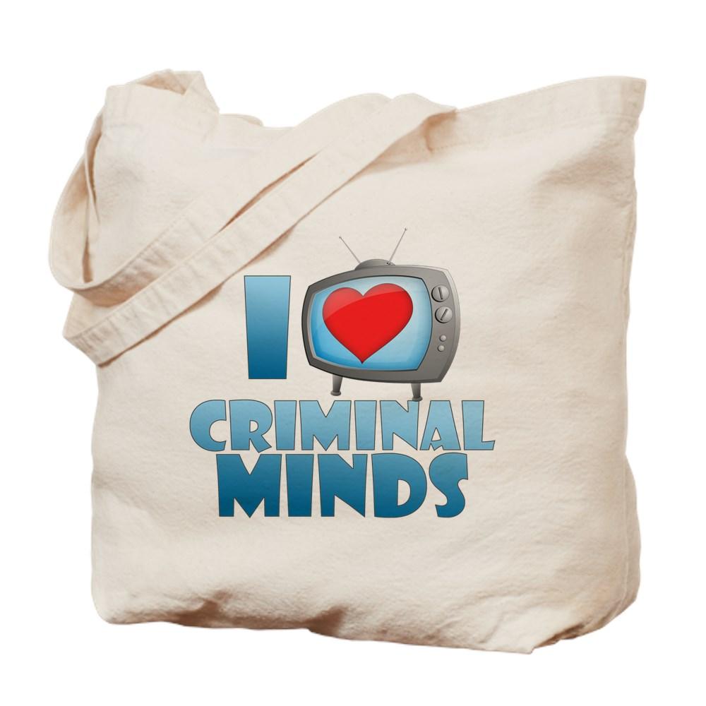 I Heart Criminal Minds Tote Bag