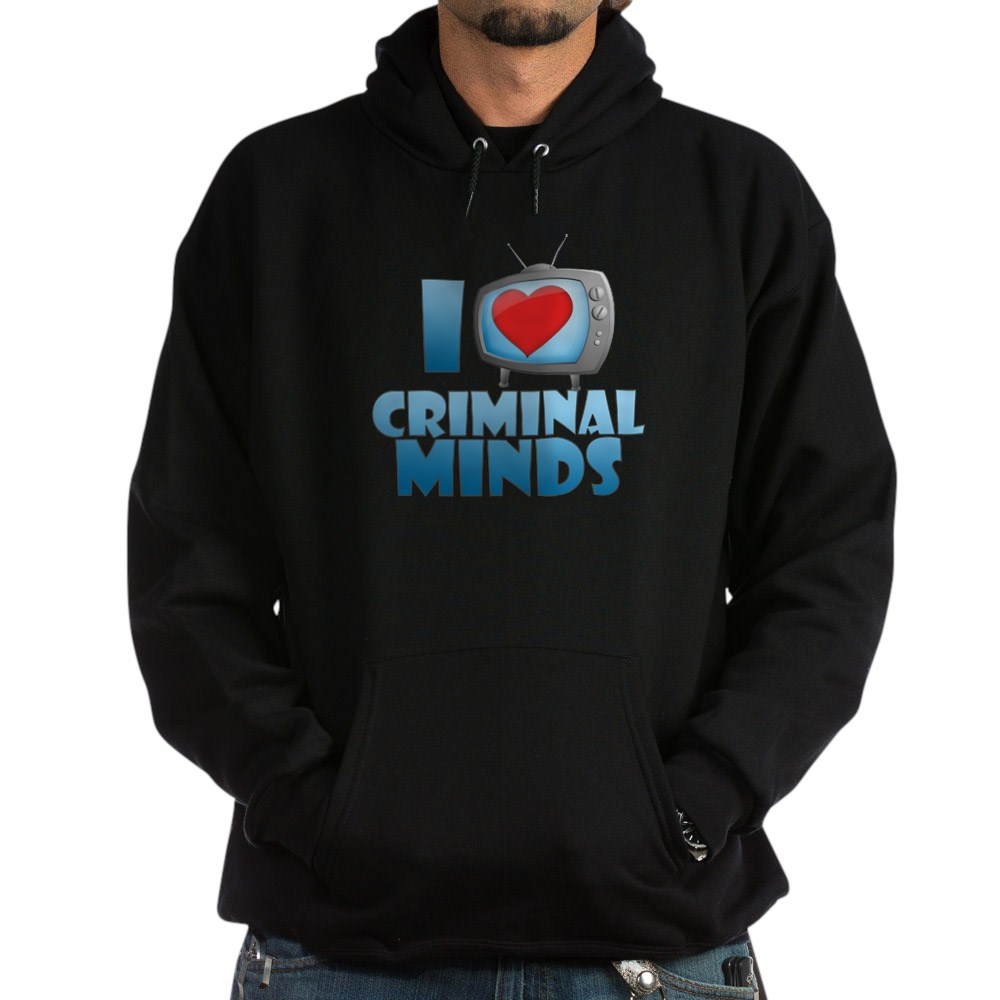I Heart Criminal Minds Dark Hoodie