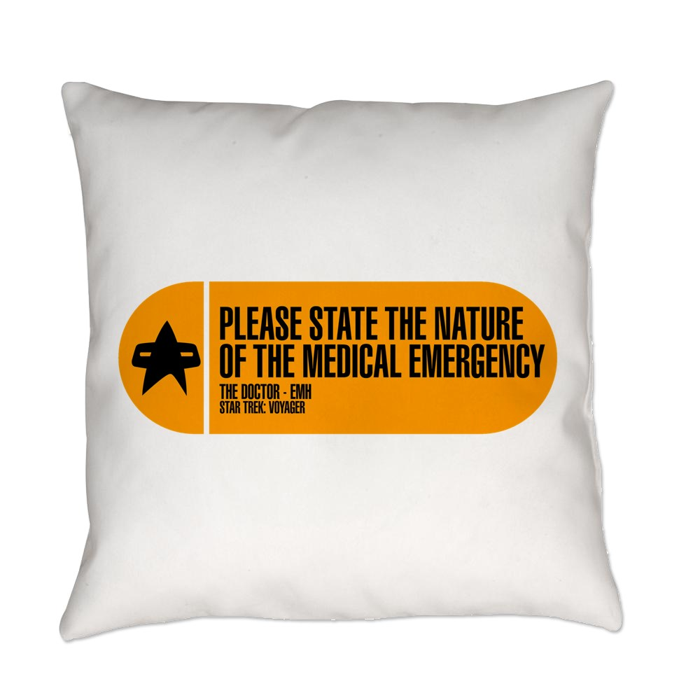 Please State the Nature of the Medical Emergency - Everyday Pillow