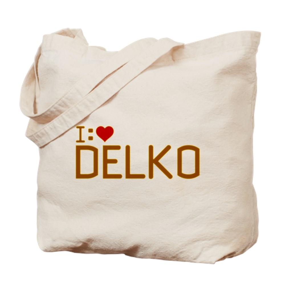 I Heart Delko Tote Bag
