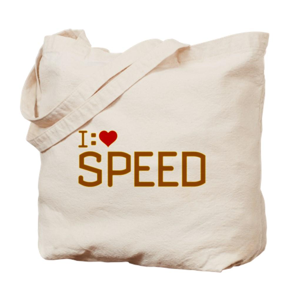 I Heart Speed Tote Bag