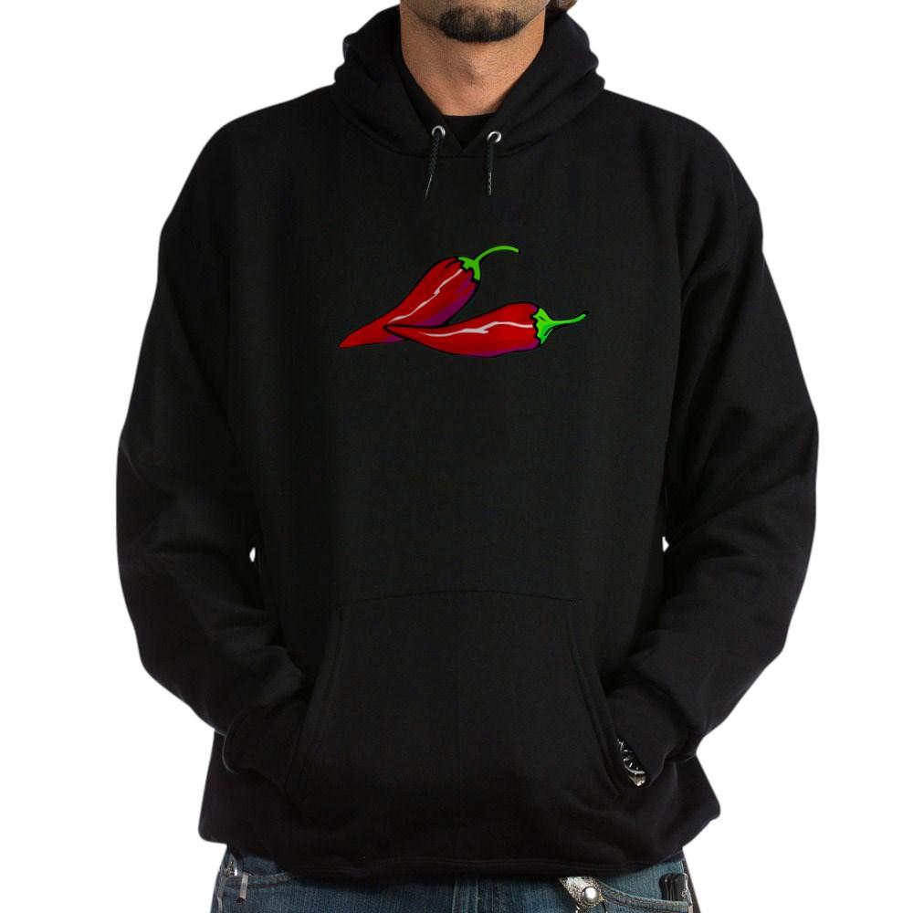Red Hot Peppers Dark Hoodie