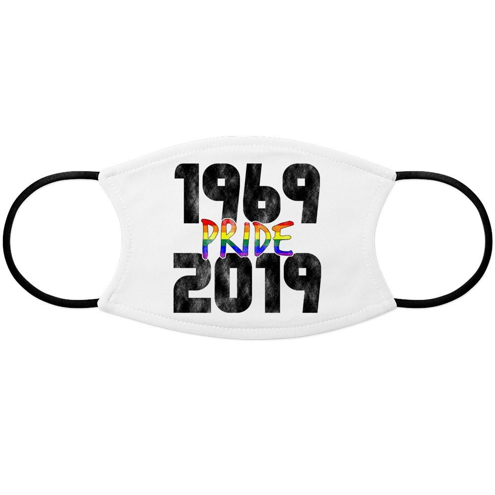 1969-2019 50th Pride Anniversary Face Mask