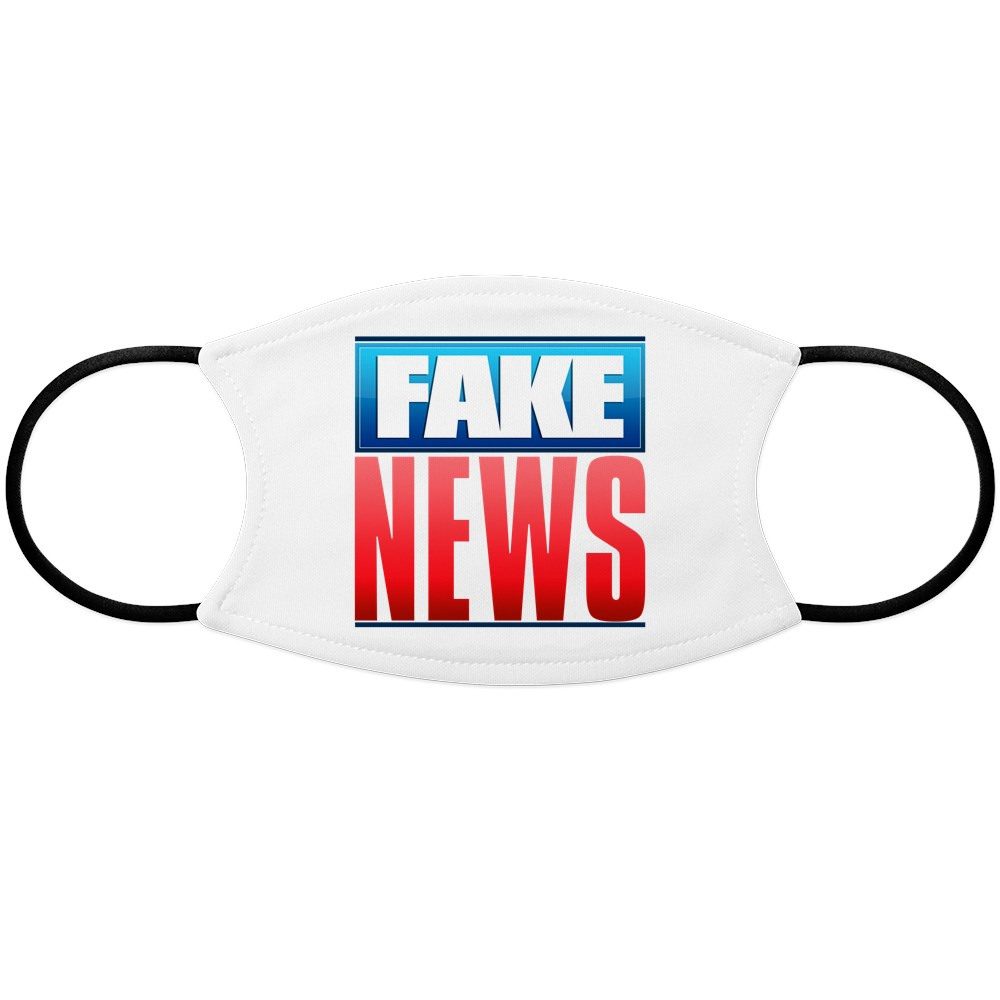 Fake News Network Logo Face Mask