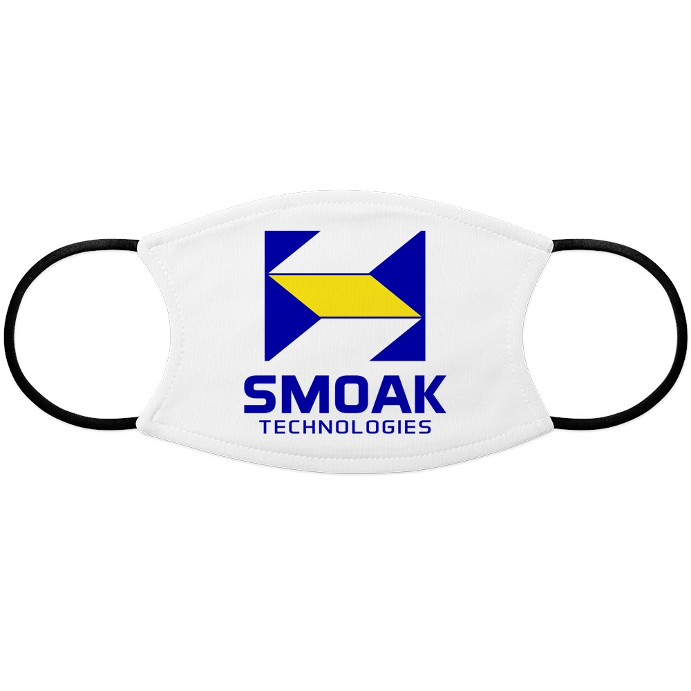 Smoak Technolgies Logo Face Mask