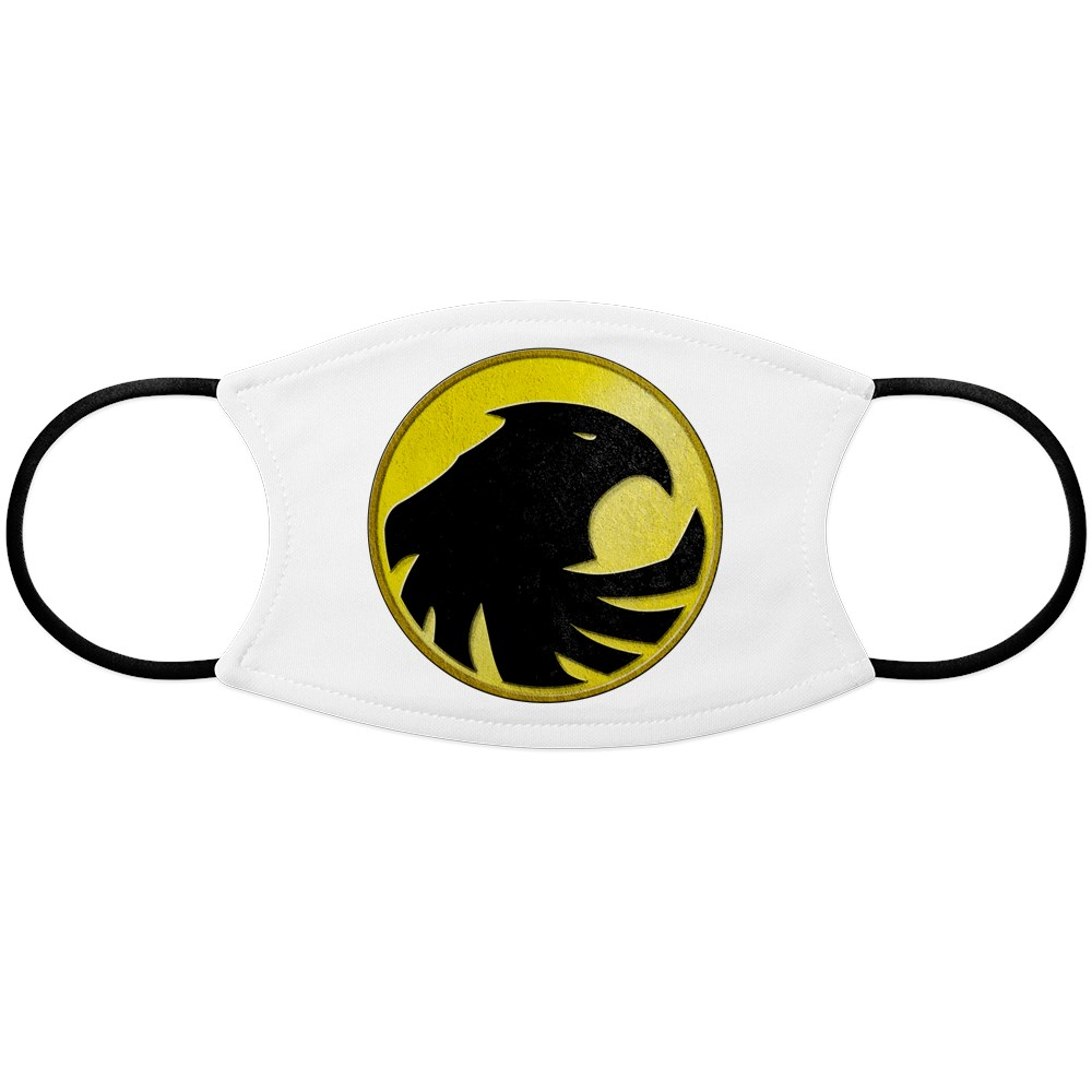 Black Canary Logo Face Mask