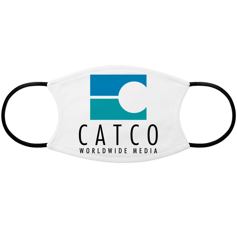Catco Worldwide Media Logo Face Mask