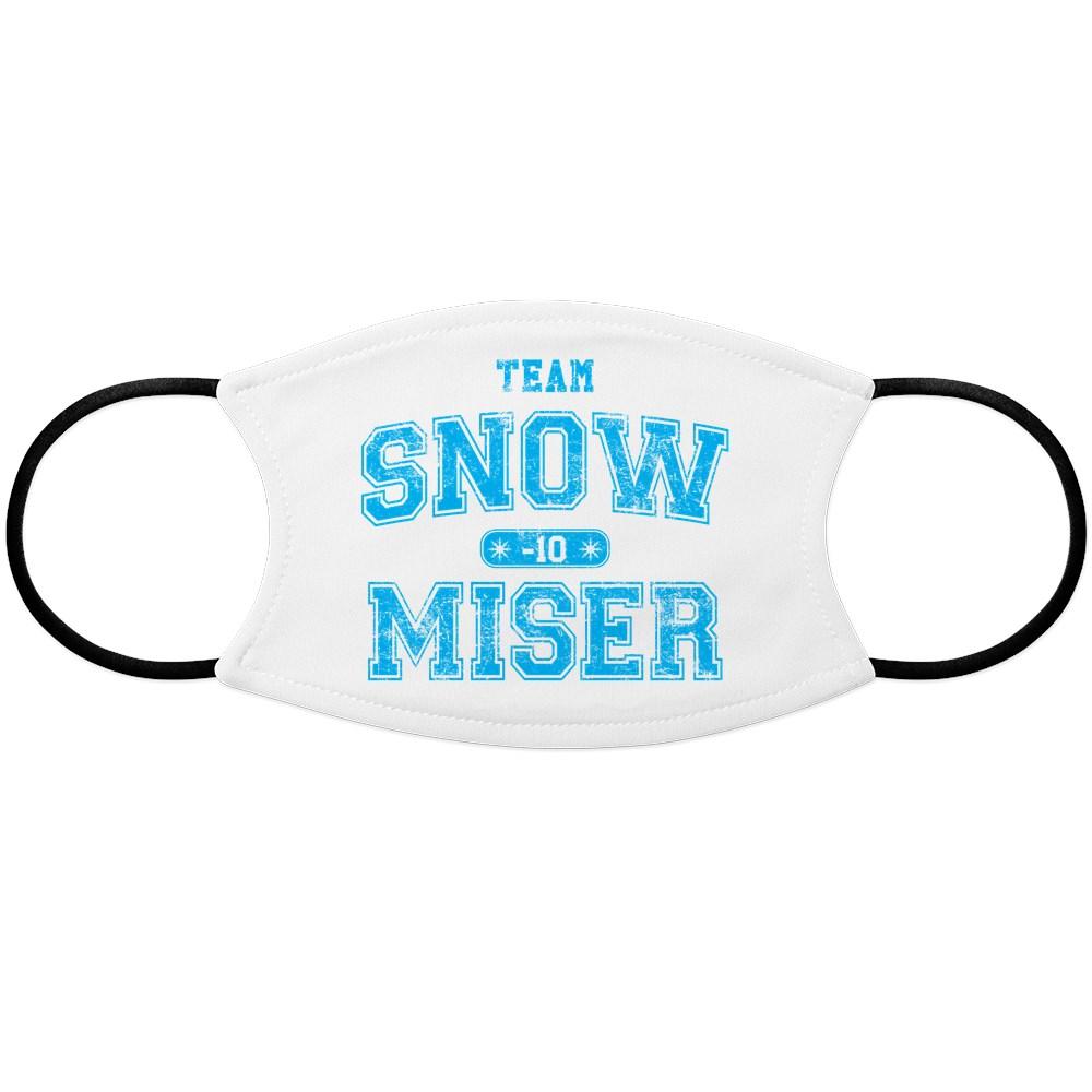 Team Snow Miser Face Mask