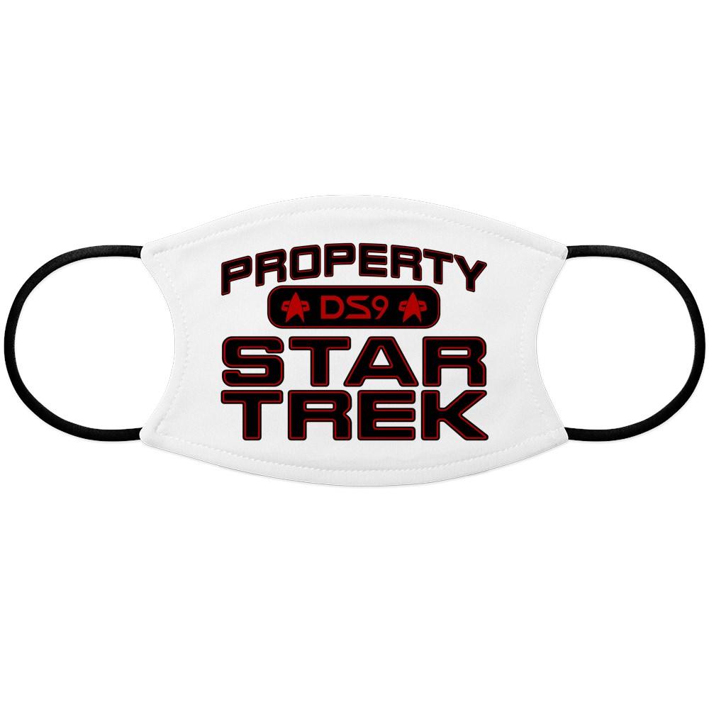 Red Property Star Trek - DS9 Face Mask