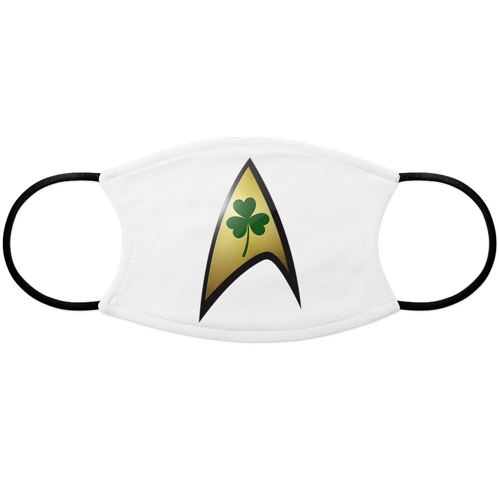 Star Trek Shamrock Face Mask