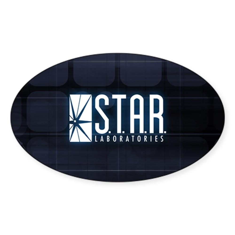 Star Labs Logo Oval Sticker