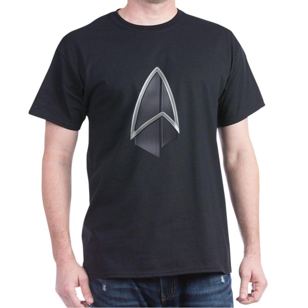 Starfleet Emblem/Comm Badge 2390s Dark T-Shirt