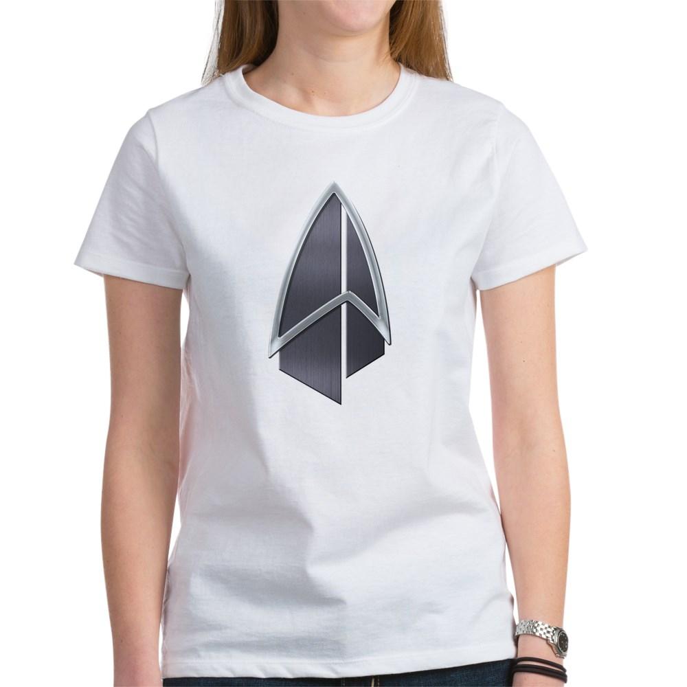 Starfleet Emblem/Comm Badge 2390s Women's T-Shirt