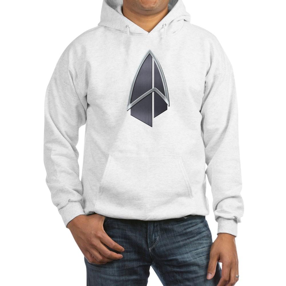 Starfleet Emblem/Comm Badge 2390s Hooded Sweatshirt