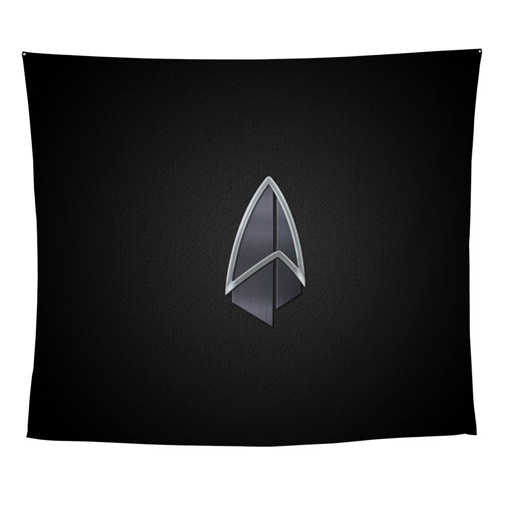 Starfleet Emblem/Comm Badge 2390s Wall Tapestry