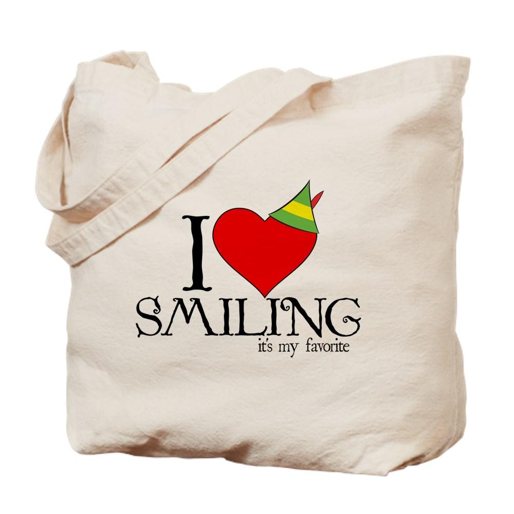 Elf - I Heart Smiling Tote Bag