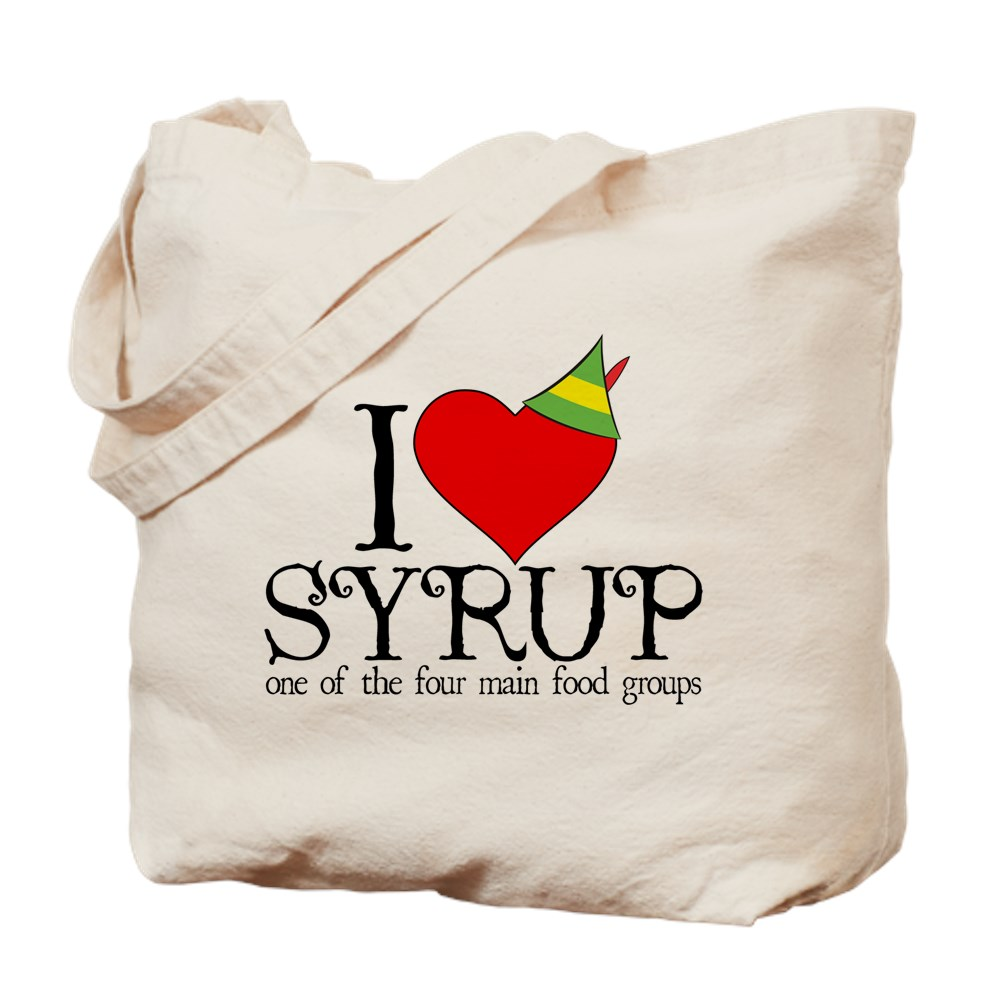 Elf - I Heart Syrup Tote Bag