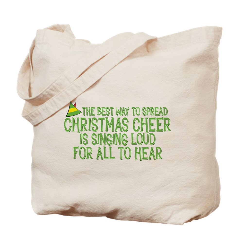 Best Way to Spread Christmas Cheer Tote Bag