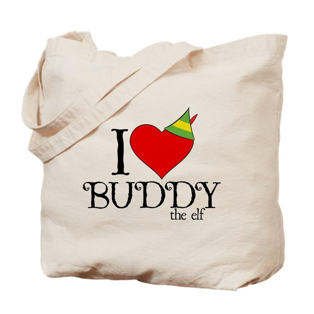 I Heart Buddy the Elf Tote Bag