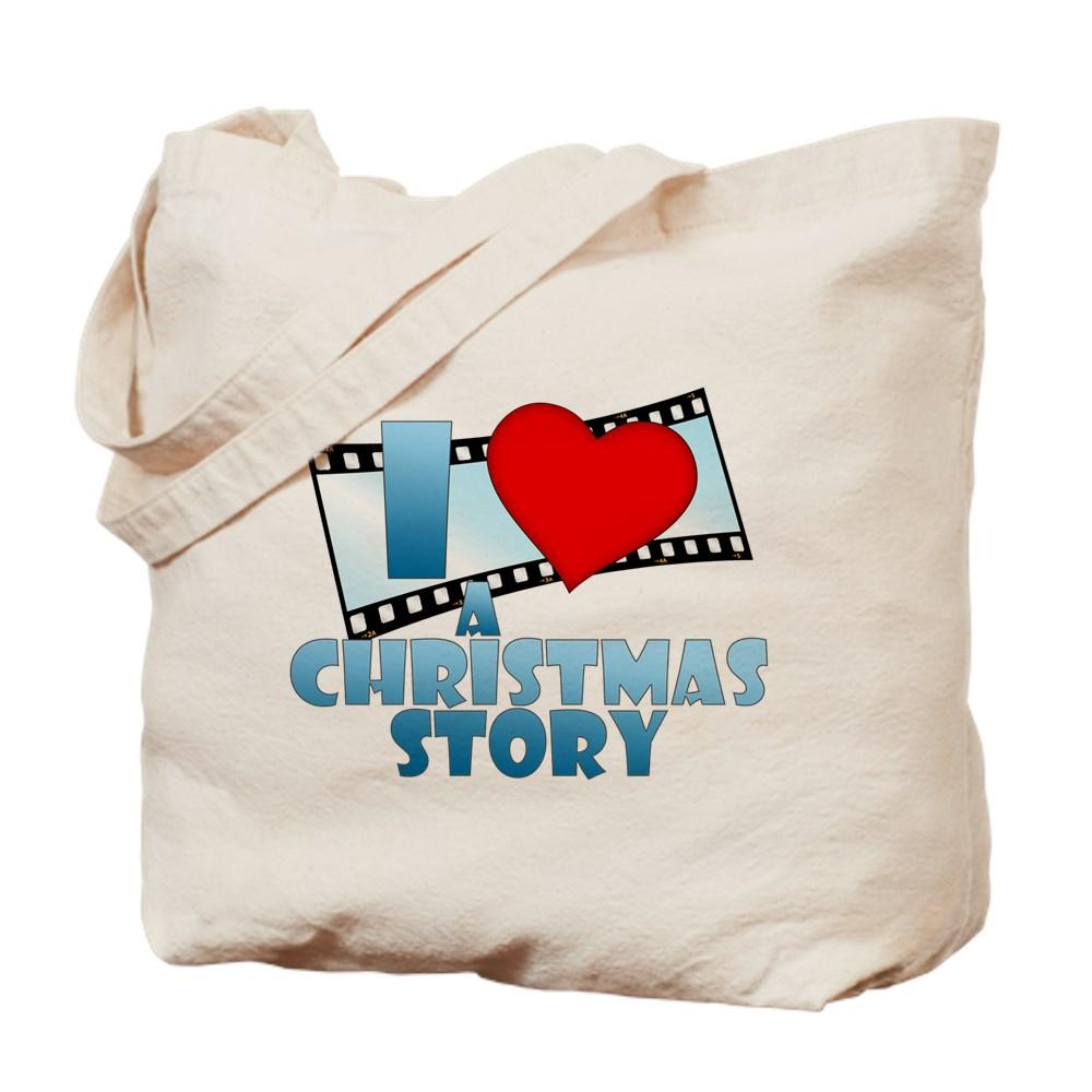 I Heart A Christmas Story Tote Bag