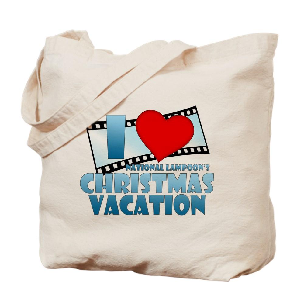 I Heart Christmas Vacation Tote Bag