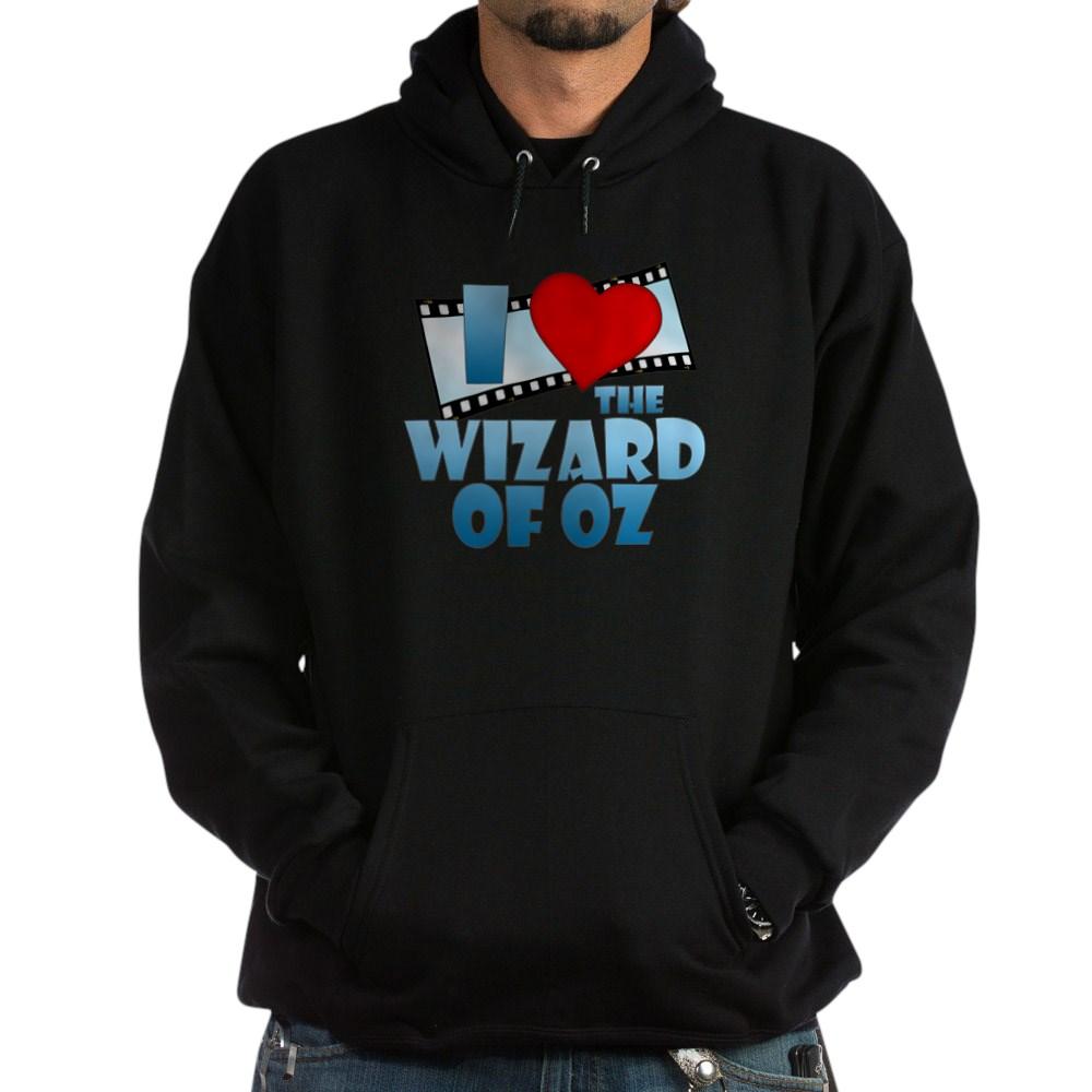 I Heart The Wizard of Oz Dark Hoodie